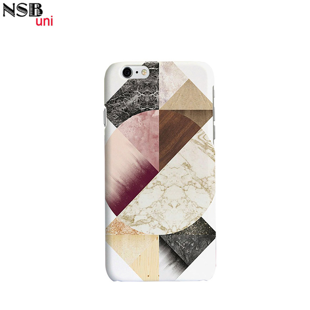 9afe315a56 Brand NSBuni 3D Sublimation Unique Phone Cases for iPhone 6/6S with Cute  And Awesome Marble Design Free Shipping