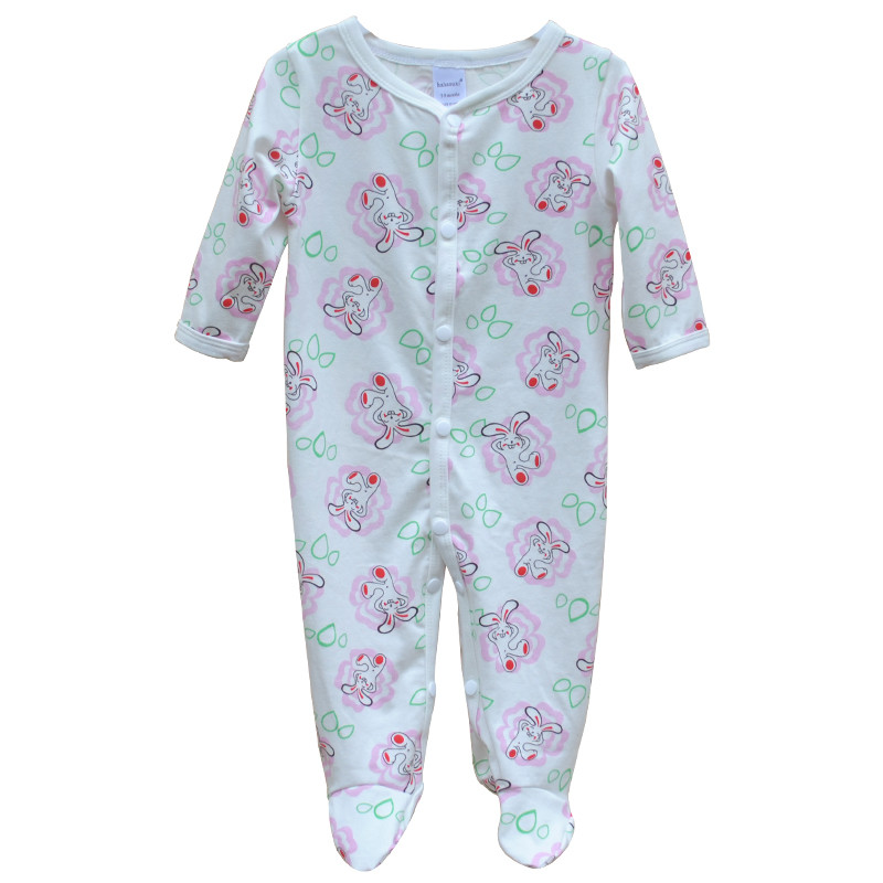 Brand Newborn Baby Clothes Cute Cartoon Baby Costume Girl Boy Jumpsuit Clothing Spring Autumn Cotton Romper Body Baby Clothes 11
