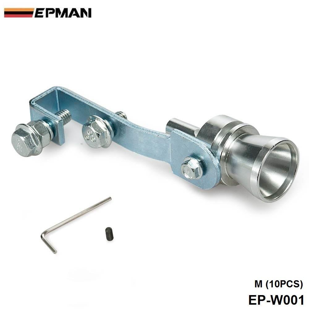 Универсальный автомобильный турбозвуковой свисток Глушитель выхлопная труба выдувная Vale BOV симулятор звука турбины Размер M 10 шт./лот EP-W001