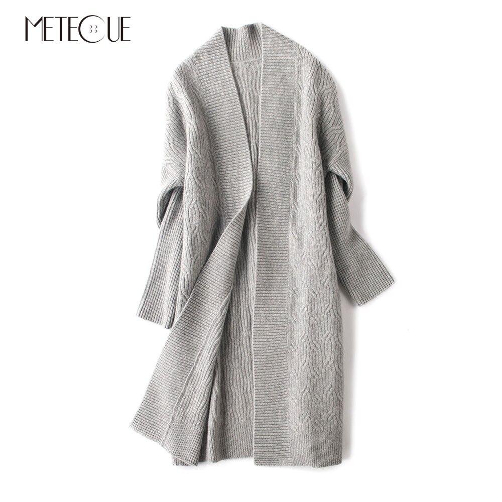 Aliexpress.com : Buy Thick Raglan Sleeve Women Cardigans Coat 100 ...