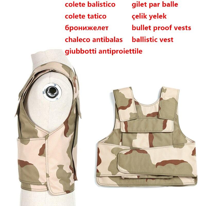 kamizelka kuloodporna Wojskowa Kamizelka Taktyczna Aramidowa - Bezpieczeństwo i ochrona - Zdjęcie 2