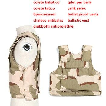 bulletproof vest Military Tactical Aramid Bullet Proof Vest AK 47 carrier  bulletproof board police swat protection Vest 1