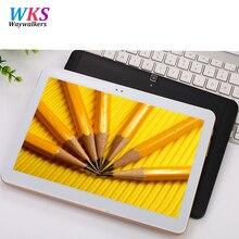 Envío libre waywalkers t805g android 6.0 10.1 pulgadas tablet pc octa Core 4 GB RAM 64 GB ROM 8 Núcleos IPS Embroma el Regalo Mejor tabletas