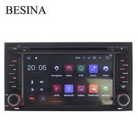Besina One Din 7 Android 7 1 Car DVD Player For Seat Leon 2014 2015 2016