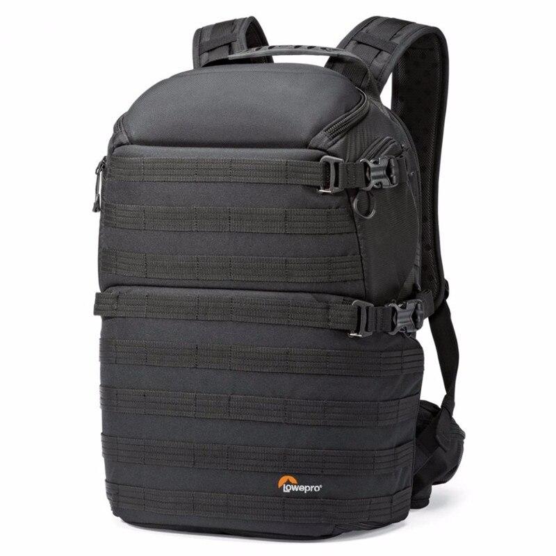 Snelle verzending Echt Lowepro ProTactic 350 AW DSLR Camera Photo Bag Laptop Rugzak met All Weather Cover-in Camera-/Videotassen van Consumentenelektronica op  Groep 1