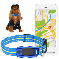 Waterproof GPS Pets Tracker Collar LED Locator GSM WIFI LBS Real Time APP Tracking Alarm Device for Dogs Cats Anti lost Geofence