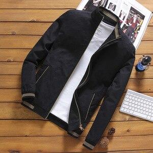 Image 2 - Mountainskin Jackets Mens Pilot Bomber Jacket Male Fashion Baseball Hip Hop Streetwear Coats Slim Fit Coat Brand Clothing SA681
