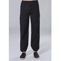 Hot Sale Vintage Chinese Style Men S Cotton Linen Kung Fu Trousers Martial Arts Pants Size