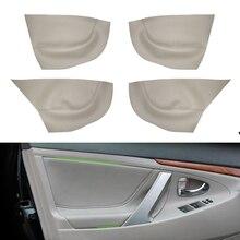 Voor Toyota Camry 2006 2007 2008 2009 2010 2011 2012 Auto Deurklink Armsteun Panel Microfiber Leather Cover