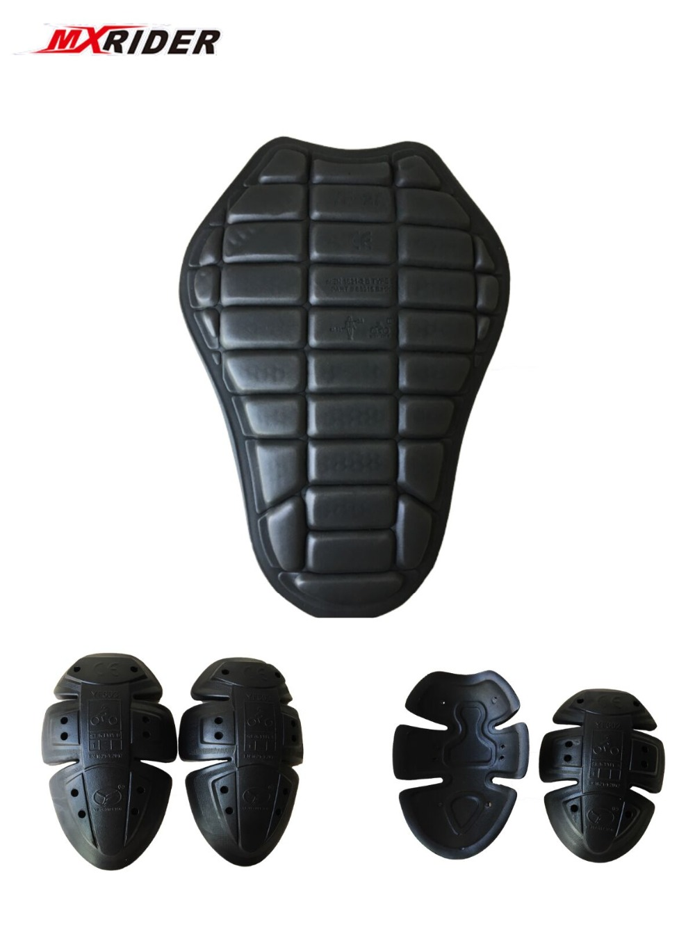 MXRIDER CE protector Motor Body Armor motorcycle jacket protective armor include 1 back pad 2 elbows 2 shoulder protectionMXRIDER CE protector Motor Body Armor motorcycle jacket protective armor include 1 back pad 2 elbows 2 shoulder protection