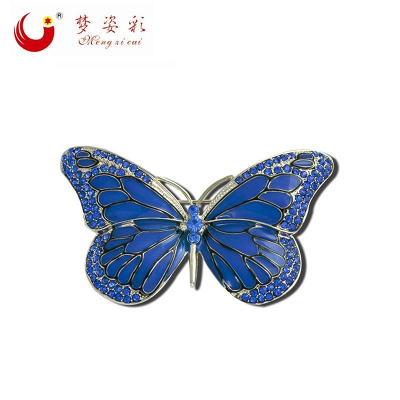 Nye høj kvalitet sommerfugl broche pin Crystal Rhinestone smukke - Mode smykker - Foto 2