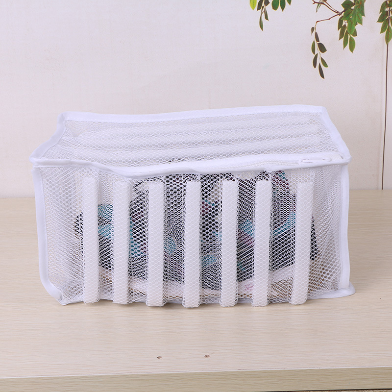 Mesh Laundry Wash Bag Sneaker Shoes Dryer Washing Bag Mesh Laundry Clothes Bag Home Organizer