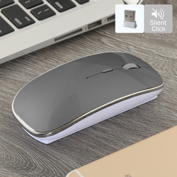 New Bluetooth Mouse for Mac Gamer 2.4GHz wireless Mouse for Xiaomi Mouse Wireless Silent Mause Gaming for Macbook Dell Acer Asus