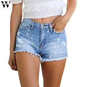 Женские узкие джинсы с бахромой, повседневные шорты на молнии, цветные джинсовые шорты, новинка 2020, A1