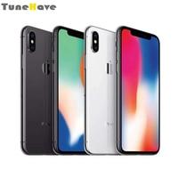 Original Unlocked Apple iPhone X Face ID 5.8 iOS A11 Smartphone 3GB RAM 64GB/256GB ROM 12MP Hexa Core 4G LTE Mobile Phone IP67