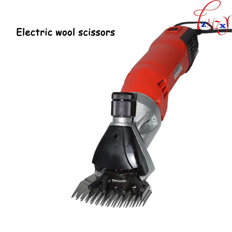 220V 680W +plastic box package best sheep coat pet sheeping grooming wool shears electric clipper shearing machine new 680w sheep wool clipper electric sheep goats shearing clipper shears 1 set 13 straight tooth blade comb