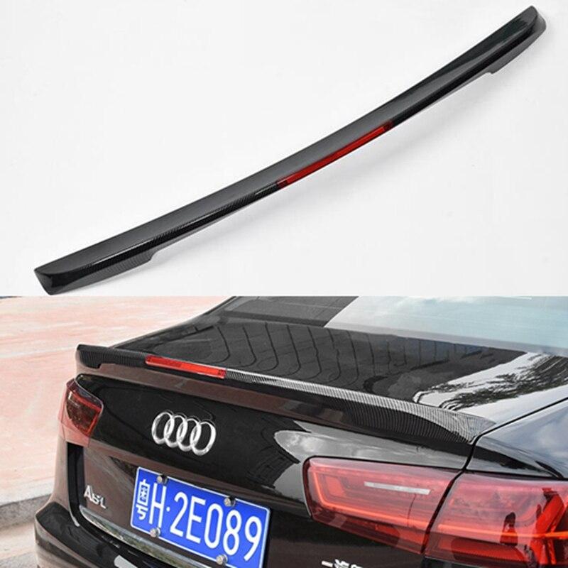 Pour Audi A6 C7 ABS aileron de coffre arrière aile 4 portes berline 2012 2013 2014 2015 2016 2017