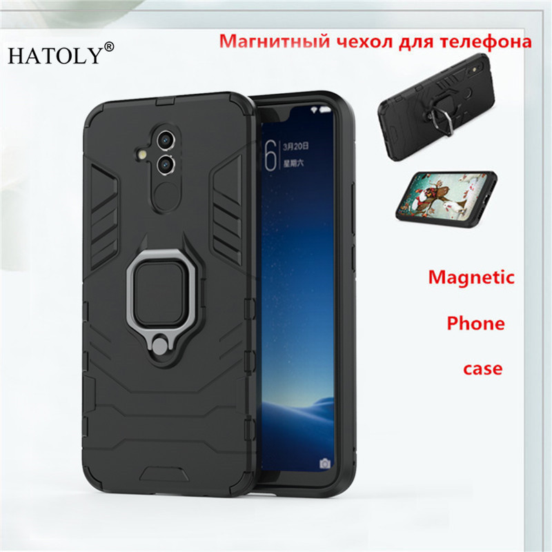 Huawei Mate 20 Lite Case Magnetic Finger Ring Armor Anti-knock Case For Huawei Mate 20 Lite Cover For Huawei Mate 20 Lite BSNOVT