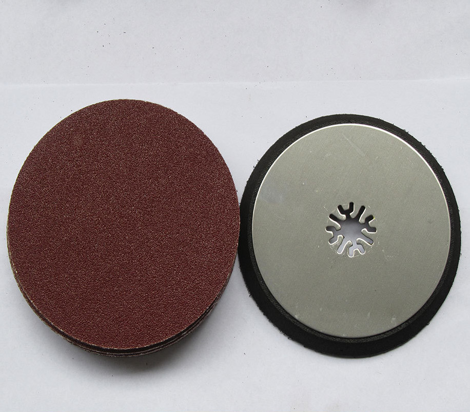 Ronda lijado pad + 20 unids lija para MultiMaster Herramientas como Fein, tch, dremel etc, a buen precio entrega rápida
