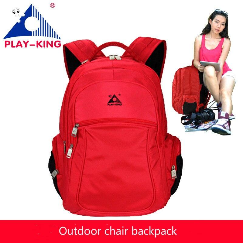 47L Outdoor sports multi-function fishing biking mountaineering hiking chair backpacks men women leisure shoulder bag