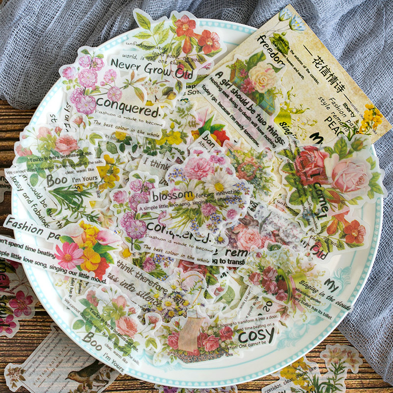 vintage-english-love-poem-series-decorative-washi-stickers-scrapbooking-stick-label-diary-stationery-retro-album-stickers