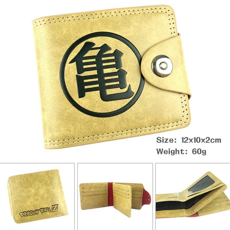 где купить Dragon Ball Son Goku Z Cartoon Anime Men Women Boys Girls Short Leather Hasp Button Wallet Purse Money Holder по лучшей цене