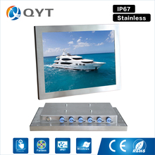"15"" industrial panel pc led screen ppc i3 i5 cpu full waterproof ip67 tablet pc 2gb ddr3 32g ssd Resistive touch 1024x768"