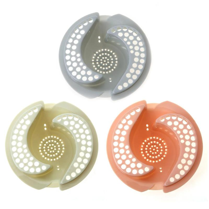 Plastic Kitchen Drain Plugs Sink Strainers Sewer Hair Filter Collect Bath Floor Drain Stopper Sink Floor Drain Plug Kitchen Use By Scientific Process