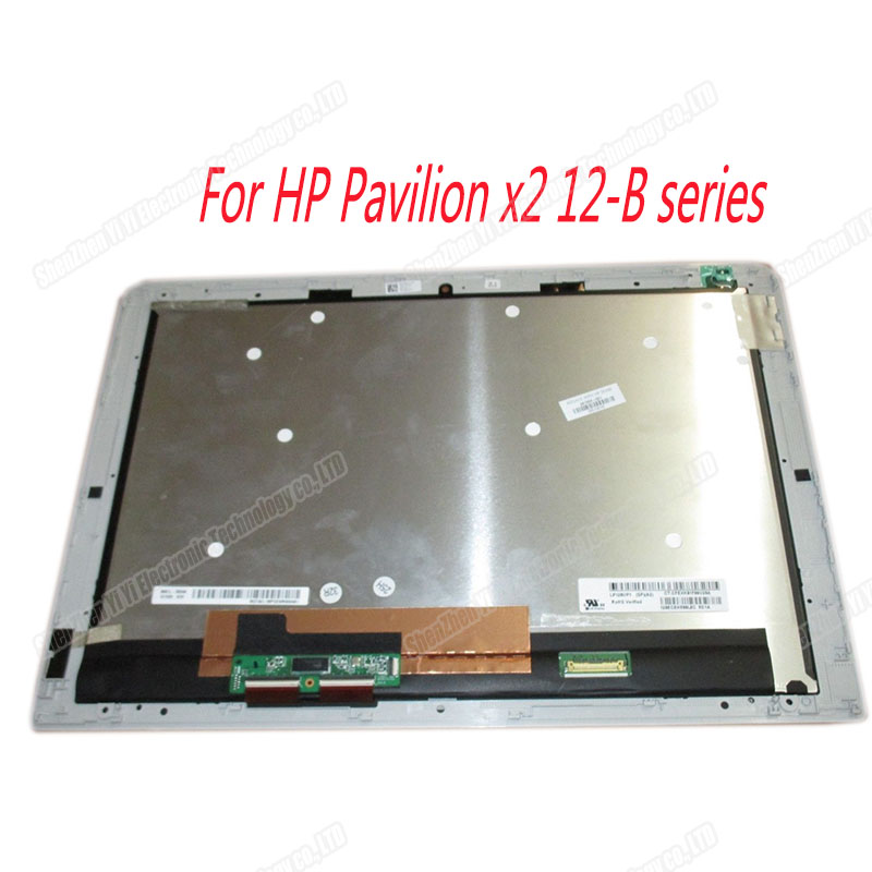 Free shipping 12 INCH Laptop lcd assembly For HP Pavilion X2 Detachable PC TPN-Q169 12-B 12-B020NR 12T-B series image