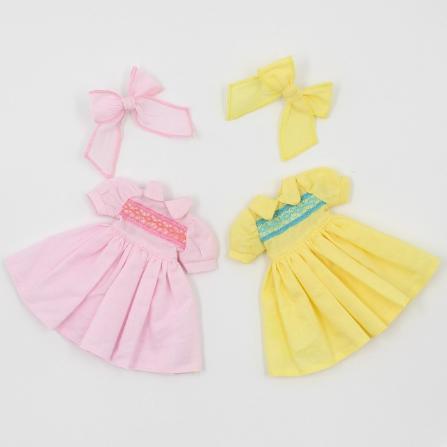 Neo Blythe Doll Dress With Bow