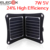 ELEGEEK 7 W 5 V Folding Painel Solar Sunpower Alta Eficiência Carregador Solar com Saco De Armazenamento Ao Ar Livre Portátil para Celular PSP