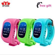 Neue Smart Telefon Kinder Kid Armbanduhr Q50 GSM GPRS GPS Locator Tracker Anti-verlorene Smartwatch Kind Schutz für iOS Android