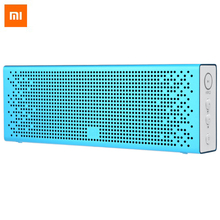 Original XiaoMi Bluetooth 4.0 Box Speaker Built-in Battery Support Hands-free Calls Music Player Volume Control for Smartphone