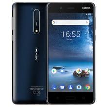 NOKIA 8 TA-1004 6 ГБ Оперативная память 128 ГБ Встроенная память Snapdragon 835 2,5 ГГц Octa Core 5,3 дюймов экран 2k двойной Камера Android 7,1 4G LTE смартфон