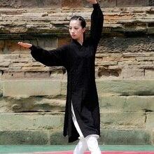 Униформа тайчи одежда для женщин и мужчин ушу Одежда Кунг-фу Униформа костюм Боевые искусства Униформа упражнения TA716 S