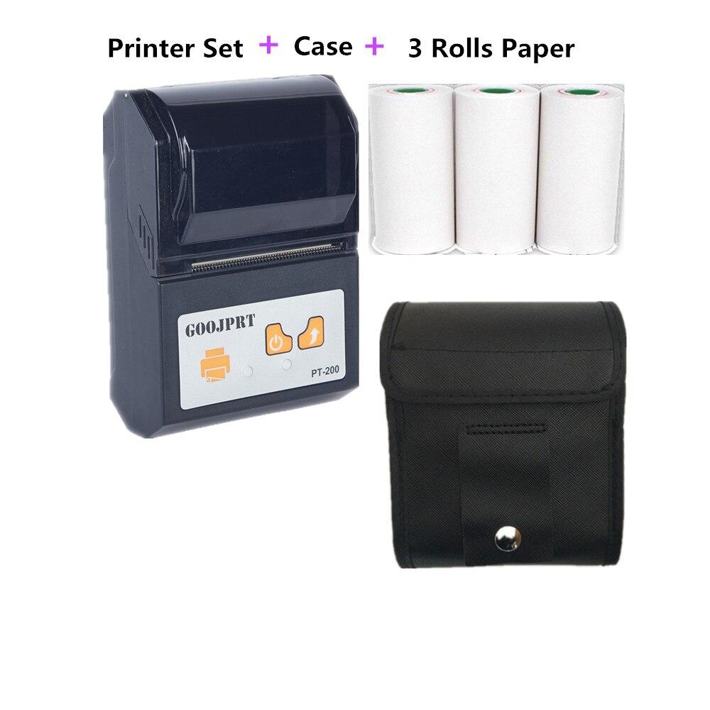 Black PT200 Thermal POS Recept Printer