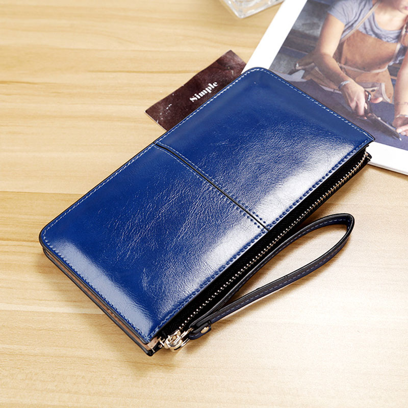 2017 New Wallet Soft Leather 3 Layers Wallets Female Long Wallet Women Cluth Bag Zipper Purses Strap Coin Purse For cell phone new bag strap chain wallet handle purse acrylic resin strap chain strap replaced bag strap bag spare parts