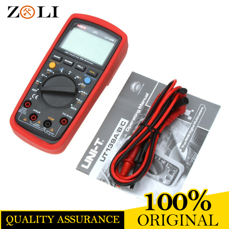 LCD Display UNI-T UT139B True RMS Electrical Digital Multimeters LCR Meter UT139B Handheld Tester Multimetro Ammeter in stock цена