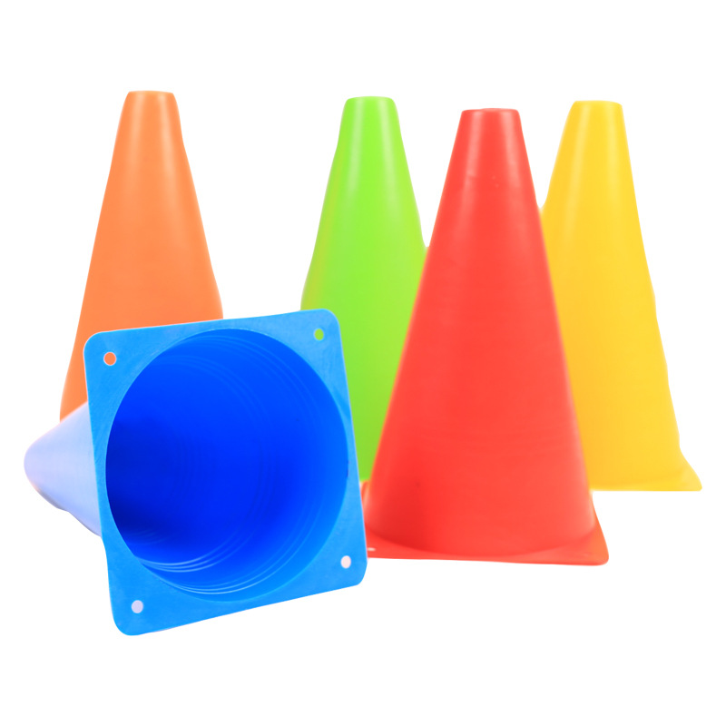 10Pcs/Set 7 Inch Skate Marker Cones Roller Football Soccer Training Equipment Marking Cup