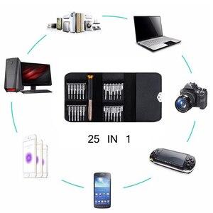 Image 5 - 25 In 1 Torx ไขควงชุดซ่อมโทรศัพท์มือถือชุดเครื่องมือ Multitool เครื่องมือสำหรับโทรศัพท์แท็บเล็ตพีซี