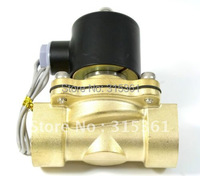 Free Shipping 5PCS Water Air Gas Fuel Solenoid Valve N/C 3/4 AC220V 2W200 20
