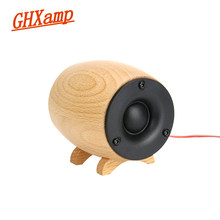 Ghxamp 2 Pcs Solid Kayu HIFI Tweeter Speaker Super Treble Kotak Suara Home Theater Ktv Berbagai Tweeter Kompensasi Neodymium(China)
