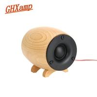 GHXAMP 2PCS Solid Wooden HIFI Tweeter Speaker Super Treble Sound Box Home Theater KTV Full Range Tweeter Compensation Neodymium