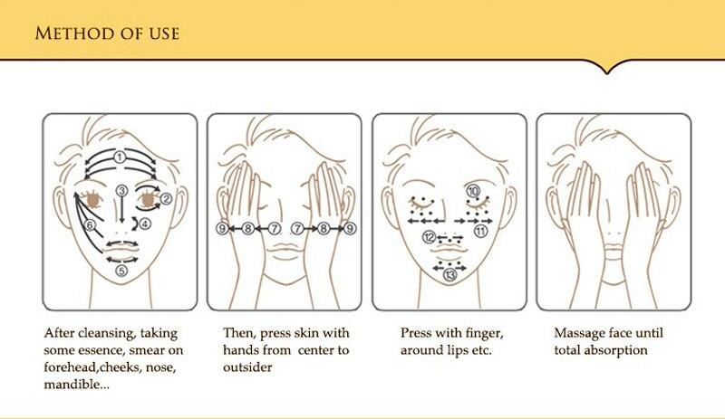 24 k BIOAQUA 24K Gold Face Cream Whitening Moisturizing 24 K Gold Day Creams & Moisturizers 24K Gold Essence Serum New Face Skin Care15