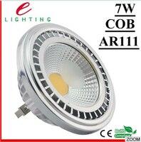 Cena fabryczna wysokiej CRI 4 sztuk/paczka Żarówki DC12V Ar111 7 W LED COB LED Spot Light