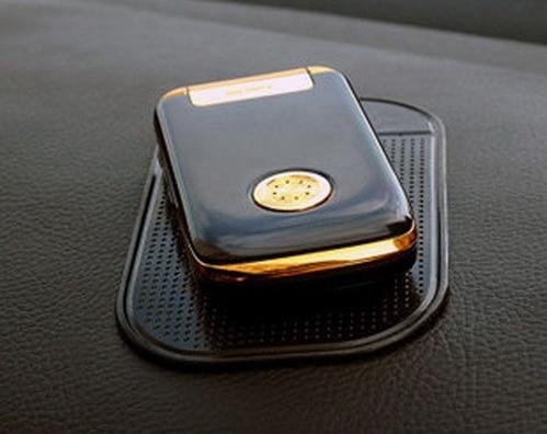 Almohadilla adhesiva antideslizante para salpicadero de coche alfombrilla antideslizante GPS soporte para teléfono móvil de 6 colores