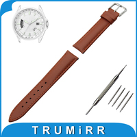 Genuine Leather Watch Band 18mm 20mm 22mm 24mm For Citizen Stainless Buckle Strap Wrist Belt Bracelet