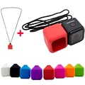 8 Colors Silicone Protective Case Cover for Gopro Hero 5 session Gopro 4 Session with Sling Lanyard