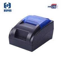 Дешевые USB POS термопринтер 58 мм ширина печати buit-в источника питания Поддержка многих языков с один год гарантии