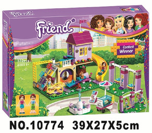 Image 2 - New Girl Heartlake City Playground Building Blocks Bricks Education Sets Toys For Girls Gift With Friends 41325
